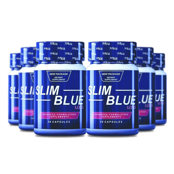 Slim Blue 60 Cápsulas 6 Potes