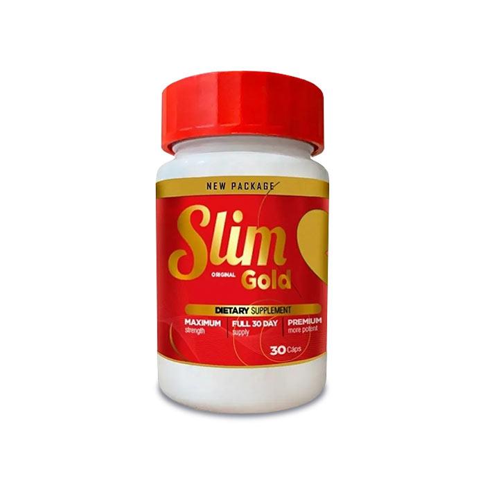 Slim Gold 30 Cápsulas  - Composto Natural