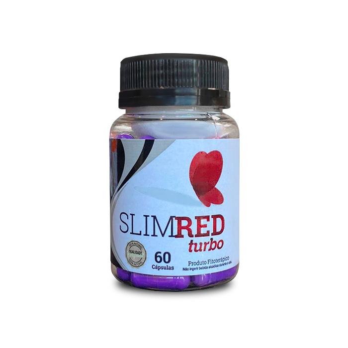 Slim Red Turbo 60 Cápsulas