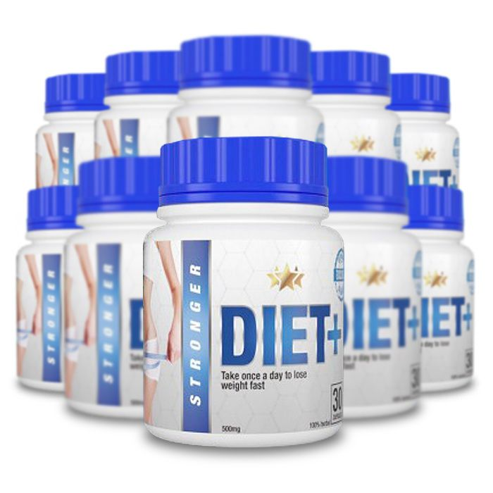 Stronger Diet 30 Cápsulas 10 Potes