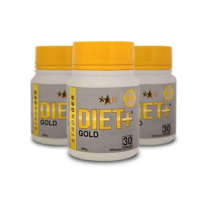 Stronger Diet Gold 3 Potes