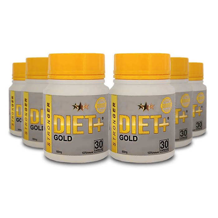 Stronger Diet Gold 6 Potes  - Composto Natural