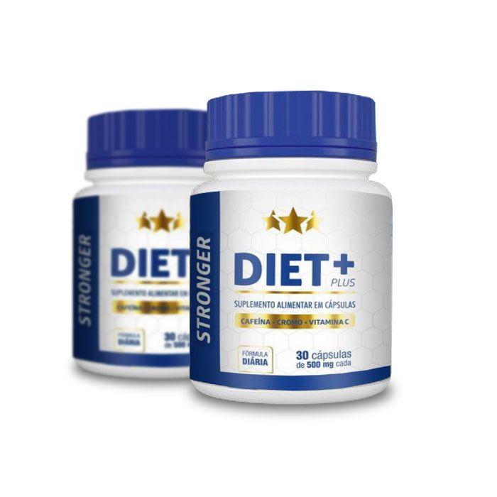 Stronger Diet Plus 30 Cápsulas 2 Potes  - Composto Natural