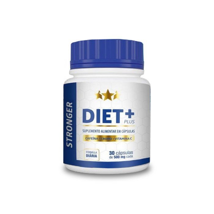 Stronger Diet Plus 30 Cápsulas  - Composto Natural