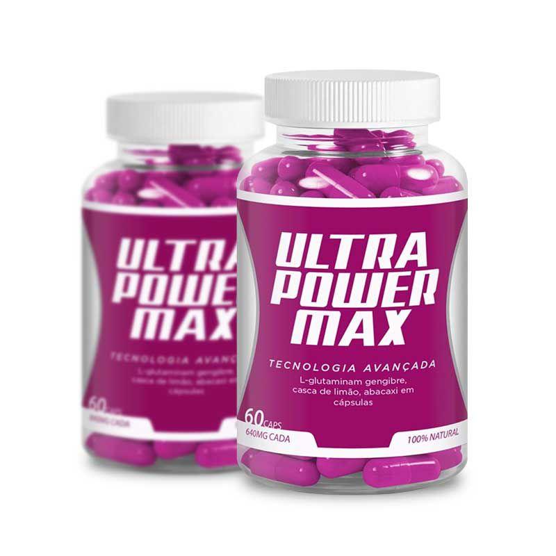 Ultra Power Max 60 Caps 2 Potes