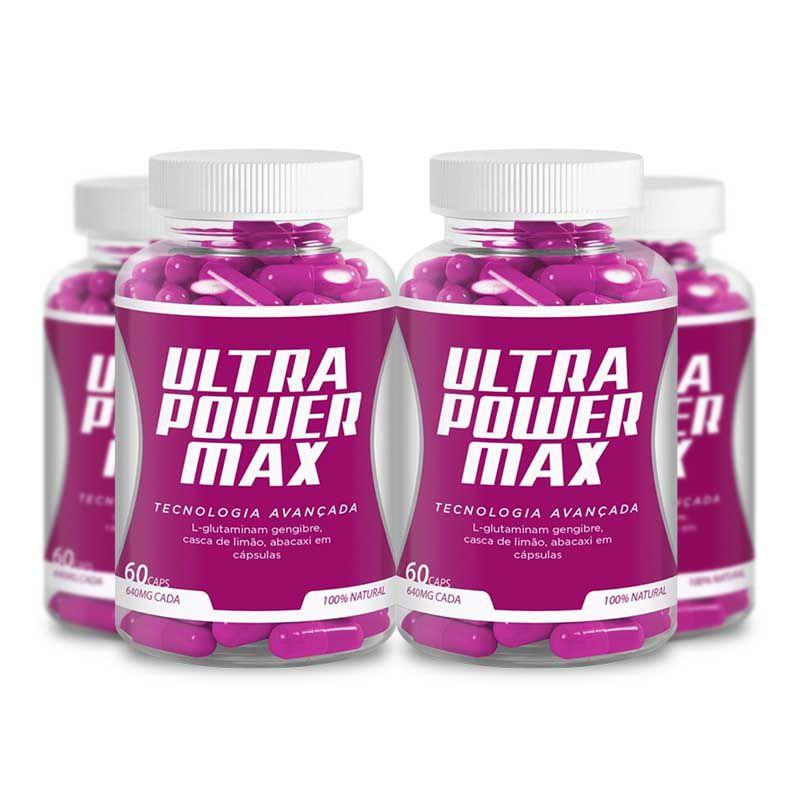 Ultra Power Max 60 Caps 4 Potes