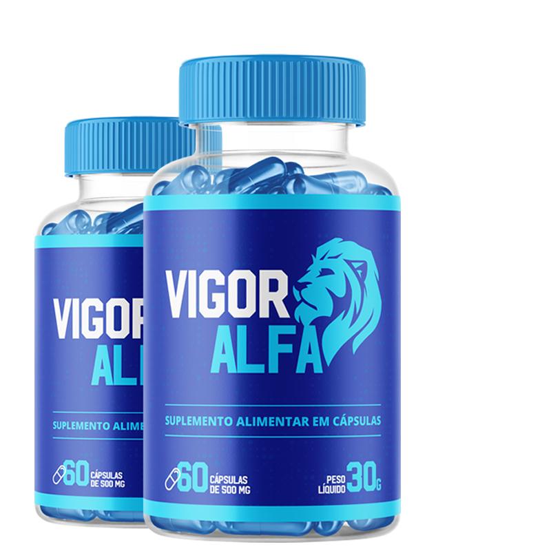 Vigo Alpha - Combo com 2 potes