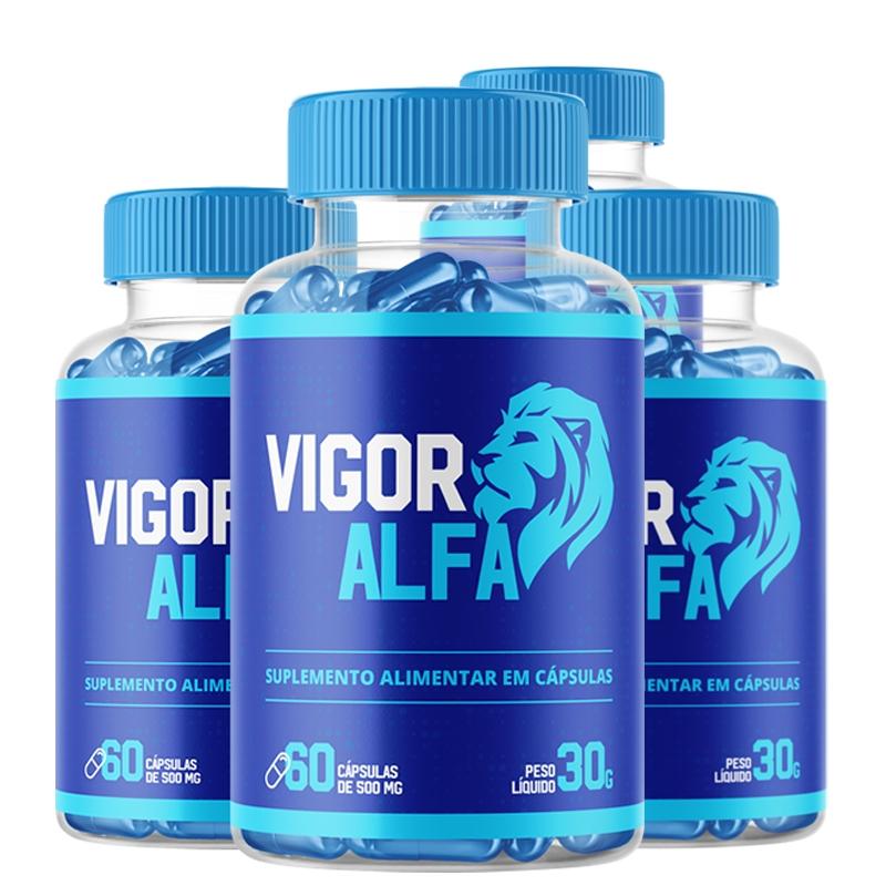 Vigo Alpha - Combo com 4 potes