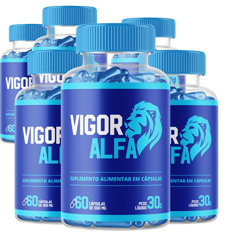 Vigo Alpha - Combo com 6 potes