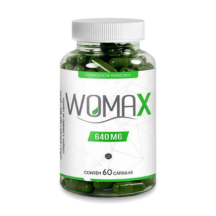 Womax 640mg 60 Cápsulas  - Composto Natural