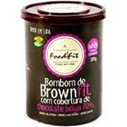 Bombom de BrownFit com Cobertura de Chocolate Belga 70% – 300g