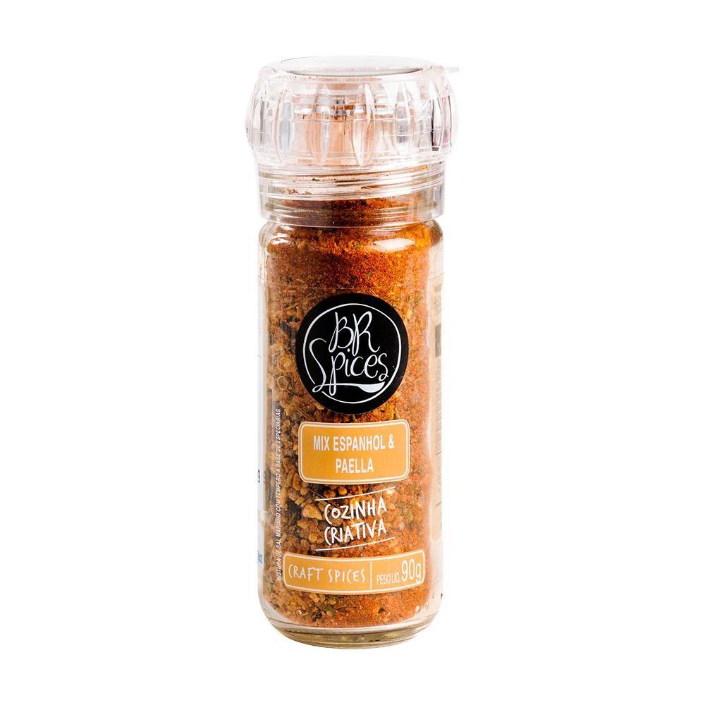 Moedor Br Spices Mix Espanhol & Paella 90g