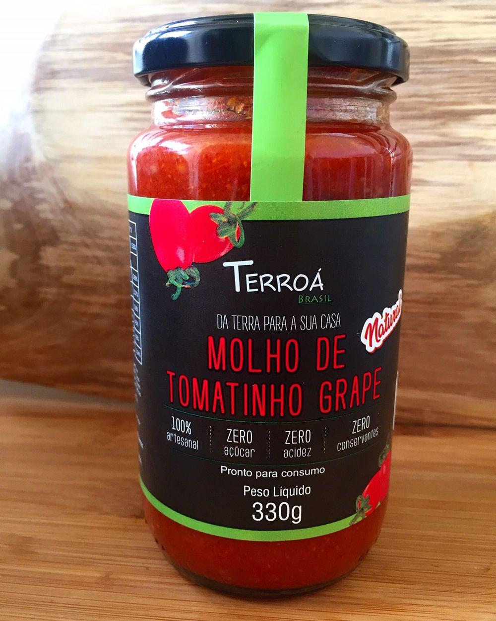 Molho de Tomate Grape - Terroá - 320g