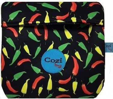 Super Kit Cozi Bag 1 Litro + Refratária 1 Litro + 100 mts  de Filme + 6 Temperos BR Spices + Molho de Piment Magic