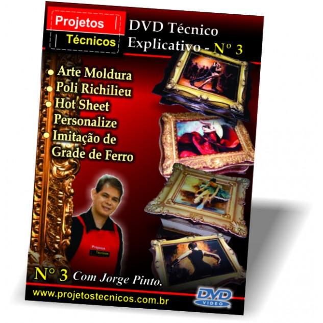 DVD PROJETOS TÉCNICOS Nº 3 - COM JORGE PINTO