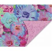 PAPEL DOUBLE FACE - MISTIC FLOWERS - A3