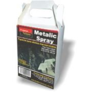 METALIC SPRAY - PRATA 60 ML. - PARA EFEITOS MARMORIZADOS