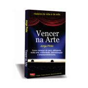 """Livro """"Vencer na Arte"""" de Jorge Pinto."""
