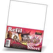 REFIL HOT SHEET - A4 - C/20 FOILHAS + BASE DE IMPRESSÃO ADESIVA