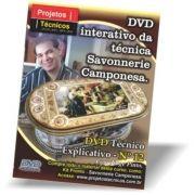 DVD - CAIXA CAMPONESAS - EM PAPEL TAPEÇARIA SAVONNERIE - Nº 12 COM JORGE PINTO