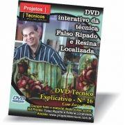 DVD - CAIXA FALSO RIPADO COM RESINA LOCALIZADA - Nº 16 COM JORGE PINTO