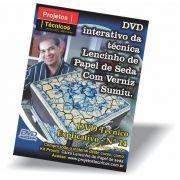 DVD - CAIXA LENCINHO DE SEDA/ARROZ COM VERNIZ SUMIU - Nº 14 COM JORGE PINTO