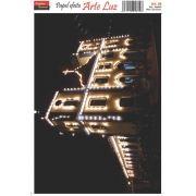 PAPEL ESPECIAL ARTE LUZ - MODELO 08 - A4
