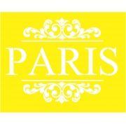 STENCIL PARA SOBREPOSIÇÃO - AMARELINHO PARIS 02- PROJETEC DESIG 21X16 CM