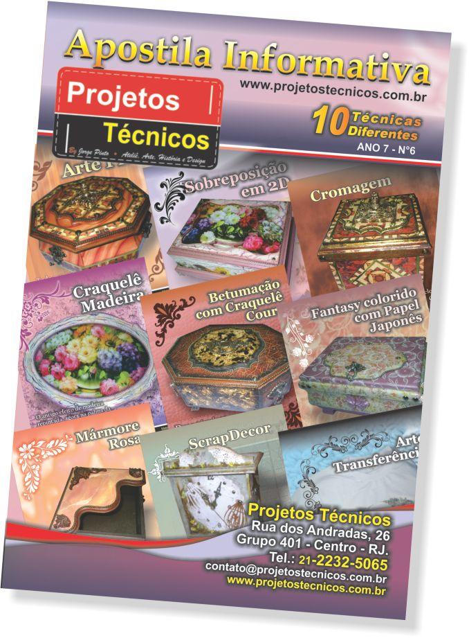 APOSTILA PROJETOS TÉCNICOS - 10 TÉCNICAS Nº 6