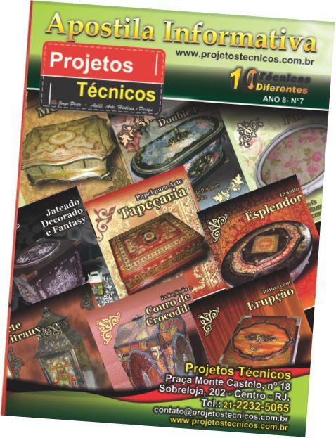 APOSTILA PROJETOS TÉCNICOS - 10 TÉCNICAS Nº 7