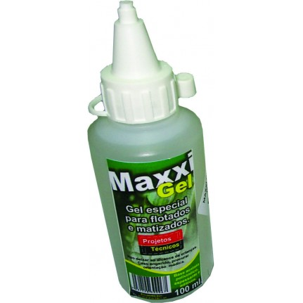 MAXXIGEL 100 ML. - PROJETEC - PARA SOMBREADOS - FLOTADOS OU MATIZADOS