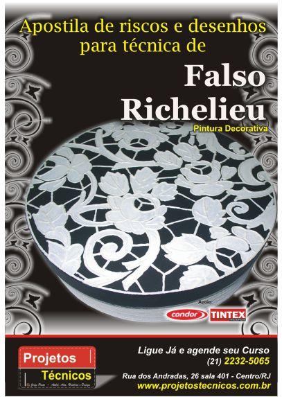 APOSTILA DE RISCOS E PASSO A PASSO PARA RICHILIEU - 17 RISCOS DIFERENTES