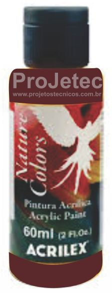 TINTA ACRÍLICA - NATURE COLORS 60 ML. VINHO