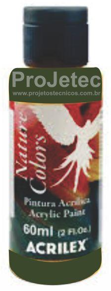 TINTA ACRÍLICA - NATURE COLORS 60 ML. VERDE ESMERALDA