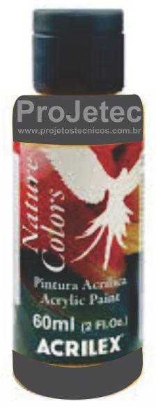 TINTA ACRÍLICA - NATURE COLORS 60 ML. GRAFITE