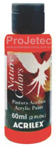 TINTA ACRÍLICA - NATURE COLORS 60 ML. GOIABA QUEIMADA