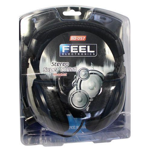 Fone de Ouvido Stereo Head Set Feel Electronics