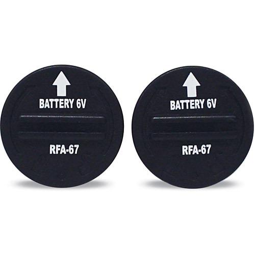 Par de Bateria para Receptor de Cerca Virtual Amicus Cães Wireless 6V (RFA-67D-11) - Petsafe
