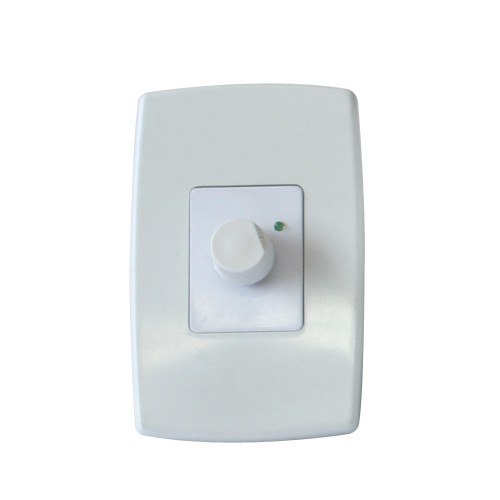 Controlador de Velocidade de Ventilador com Dimmer - Espelho - Liga / Desliga
