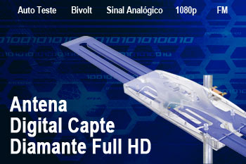 antena digital capte diamante full hd