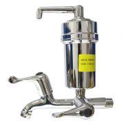 Torneira Com Filtro Purificador Metal Cromada Hidropal - CR C4
