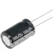 100x Capacitor Eletrolitico 1000uf X 25v * 1.000uf * 105ºc