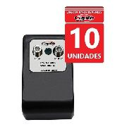 Kit 10 Un Amplificador Antena Tv Digital 30db Booster Capte