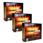 Energy Power Turbo - 3 Caixas com 12 Cápsulas