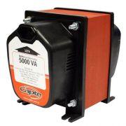 Auto transformador 5000VA - 3500W  Tripolar  -  Bivolt 110V - 220V - Capte