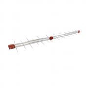 Antena Digital UHF 4K periódica Log 38 Elementos Capte Longo Alcance - Uso coletiva
