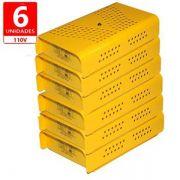 Anti Mofo Eletrônico Repel Mofo Amarelo Contra Bolor Mofo Ácaro 6 undades 110v