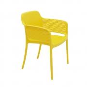 Cadeira Tramontina Gabriela em Polipropileno e Fibra de Vidro Amarela