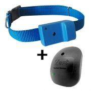 Coleira AntiLatido Smart Plus 2 Azul, Repelente Zen preto