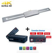 Conversor Digital Dtv 4000 Aquario Hdmi-usb + Capte Grafite